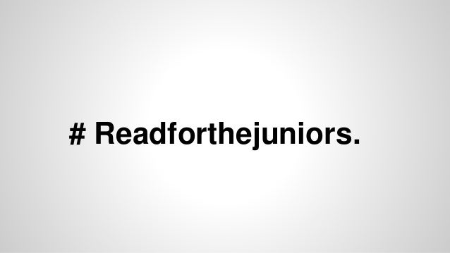 # Readforthejuniors.