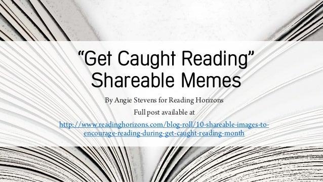 Reading Horizons Reading Memes