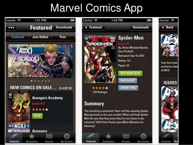 CharacterMarvel Comics App             Texts    •Students get in pairs    •They chose character    they want to be    •The...