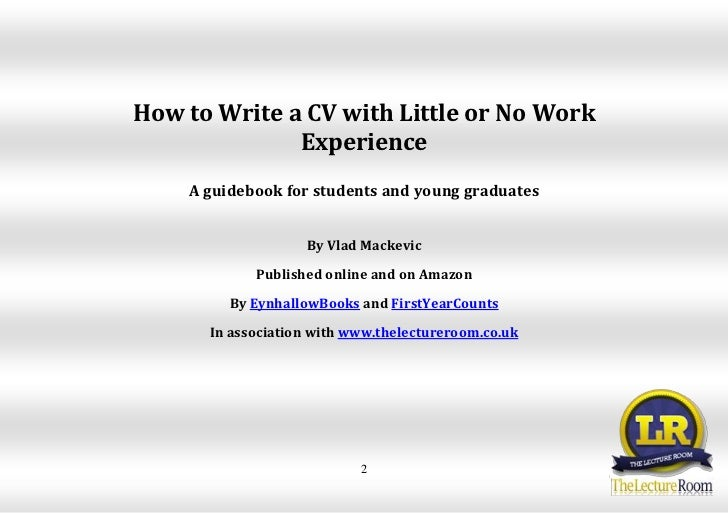 How to write the Education and Training Section of your CV