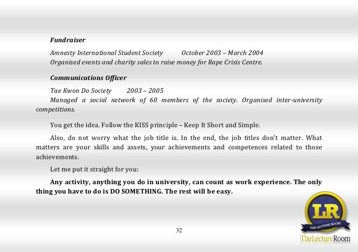 reading layout  vlad mackevic how to write a cv with