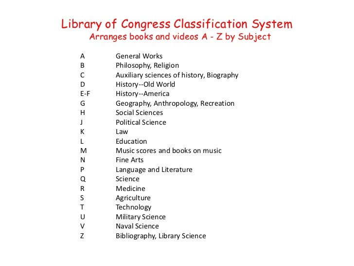 library of congress classification Library of congress classification/class t from wikisource library of congress classification jump to: navigation, search.