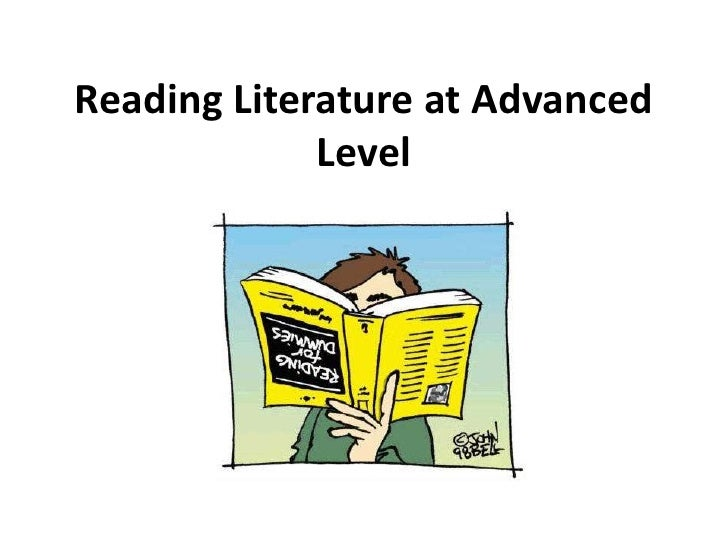 Reading Literature at Advanced Level<br />