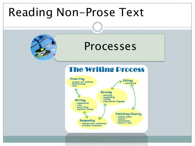 non prose reading examples