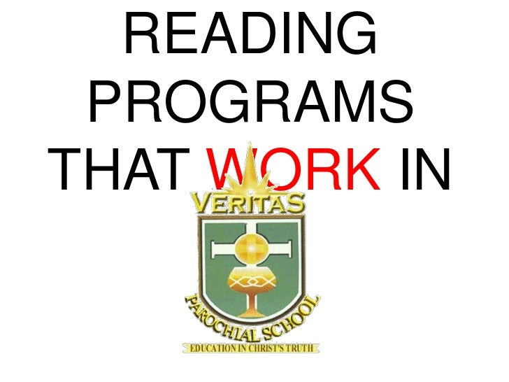 READING PROGRAMSTHAT WORK IN