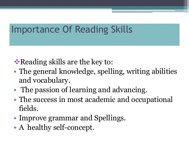 significance of literacy