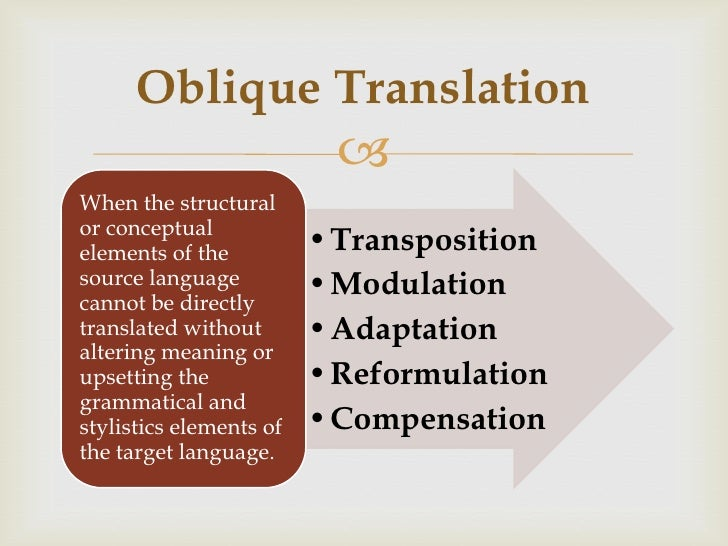Translation Techniques: Battling Discrepancies Between Languages