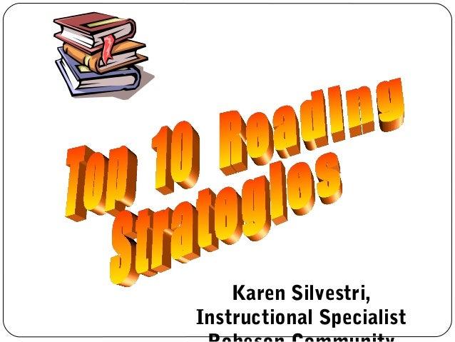 Karen Silvestri,Instructional Specialist