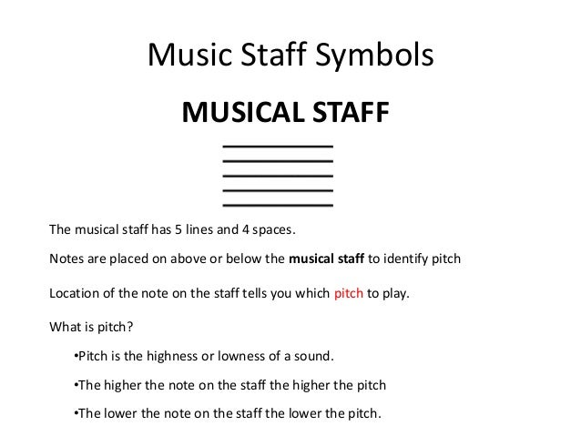 Staff Symbol In Music Clipart Library