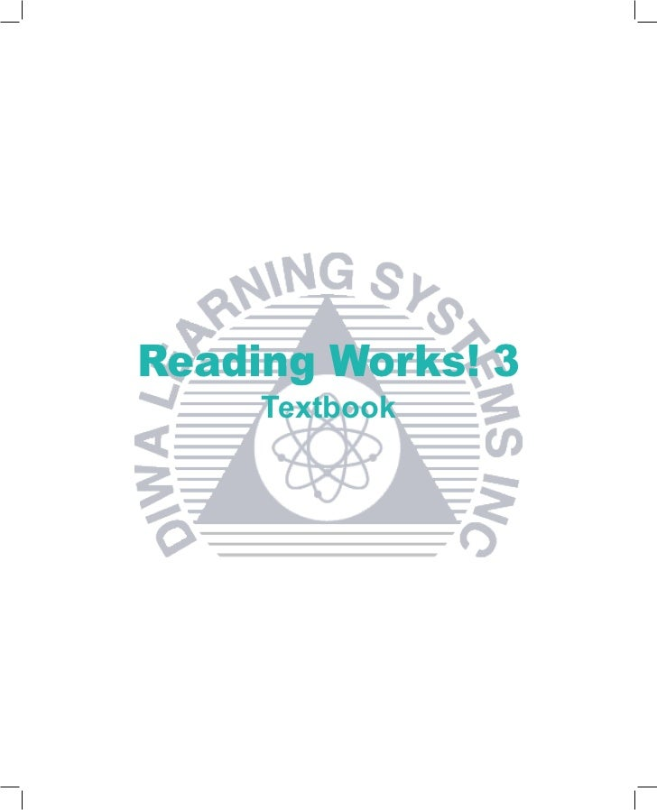 Reading Works! 3     Textbook