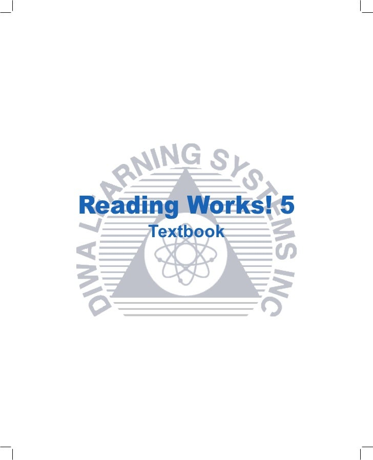 Reading Works! 5     Textbook