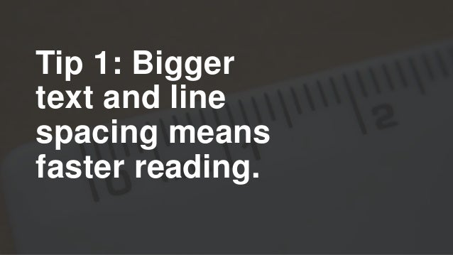 Tip 2: Listen to your readings to get more reading done and save your eyes.
