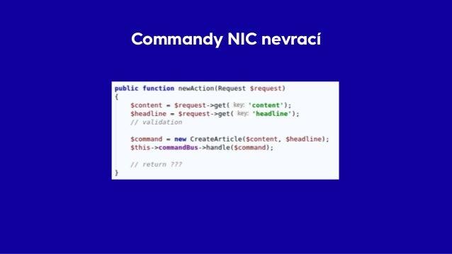 Commandy NIC nevrací