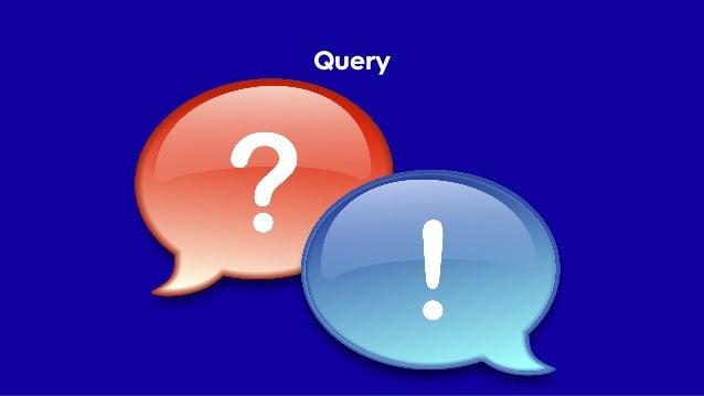 Query • Přesně pro potřeby UI • Vrací objekty Read Modelu