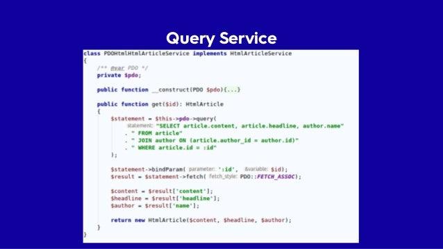CQRS • Jednoduchý architektonický vzor • Zápis a čtení jsou oddělené a neovlivňují se • Umožňuje tunit výkon Command Bus U...