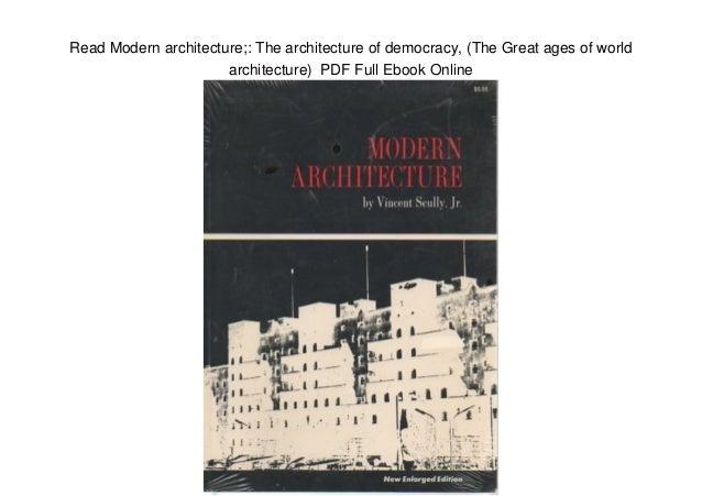 Pdf modern architecture