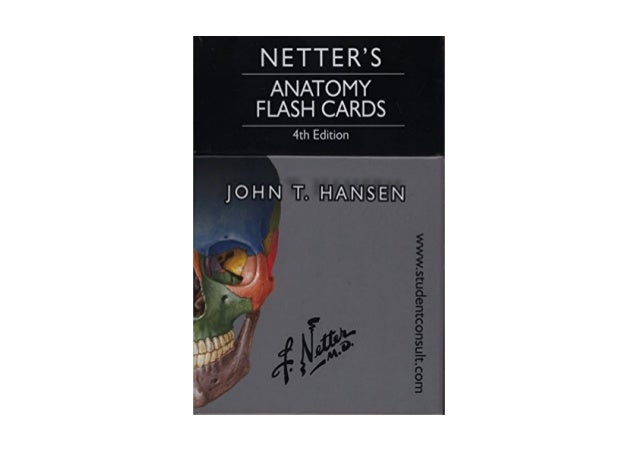 Read Netter S Anatomy Flash Cards With Online Student