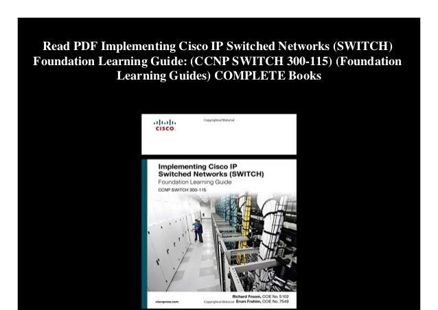 Cisco Ccnp Switch Book