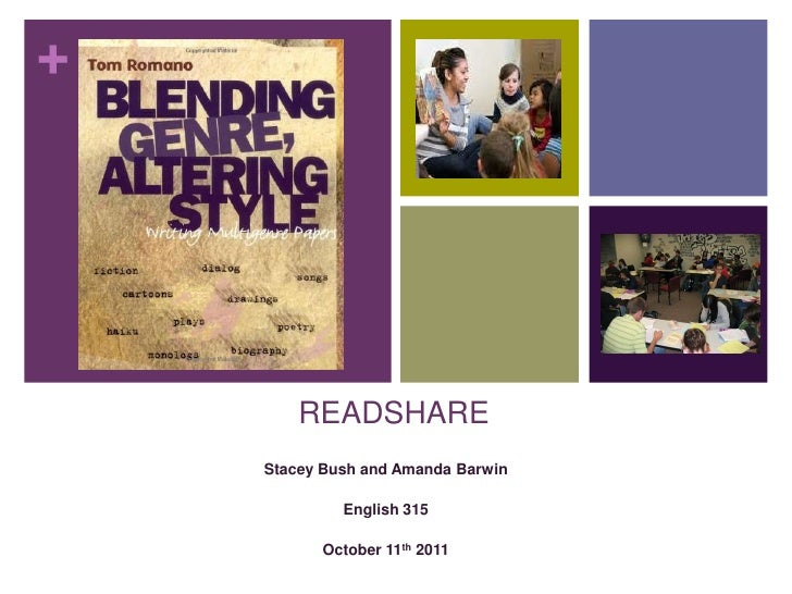 READSHARE<br />Stacey Bush and Amanda Barwin<br />English 315 <br />October 11th 2011<br />