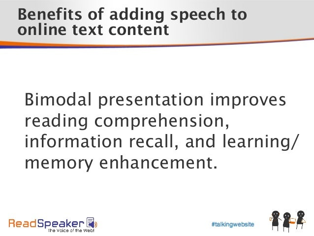 How ReadSpeaker's new speech-enabling product extends the reach of yo… slideshare - 웹