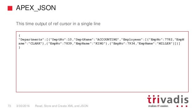 how to read a json