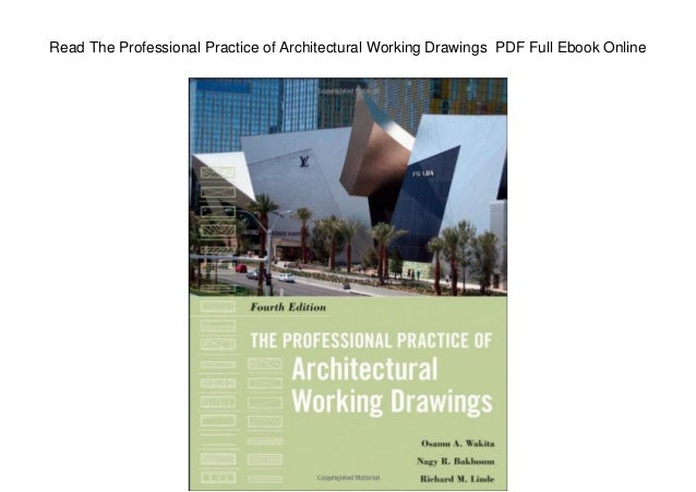 Understanding Architecture Through Drawing Pdf