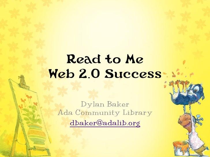 Dylan Baker Ada Community Library   dbaker@adalib.org