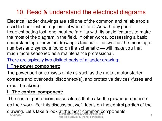 Read and understand the electrical diagram 2 10 read understand the electrical diagrams ccuart Image collections