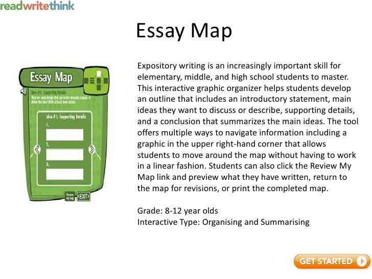 read write and think essay map Essay map - readwritethink - readwritethink.
