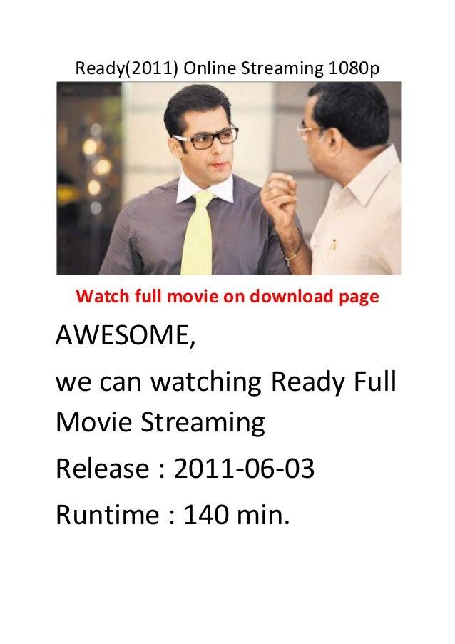 Ready movie online download