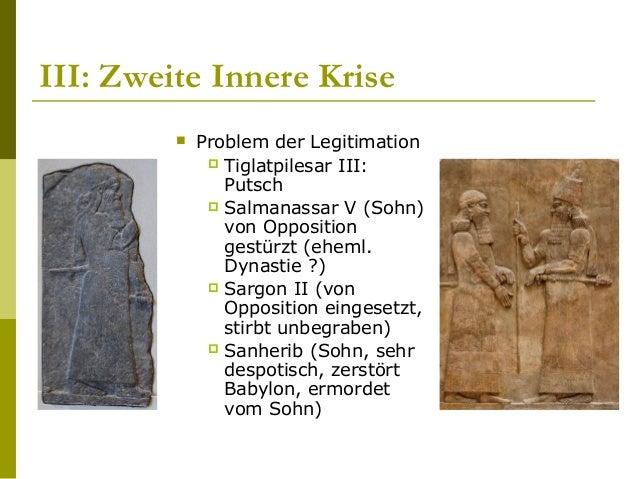 Überraschender Untergang (?)  Situation  Äussere Feinde waren besiegt (Urartu, Elam, Babylon)  Dynastische Stabilität ...