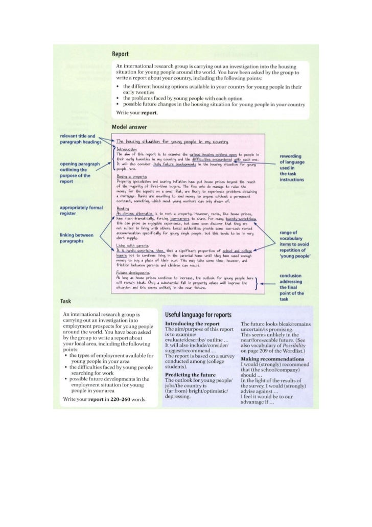Ejemplo Writing Advanced CAE Sample – Essay