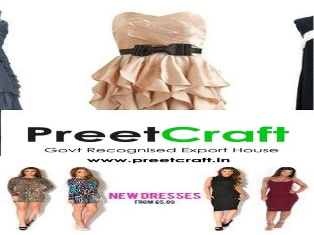 readymade garments (ladies) export oriented