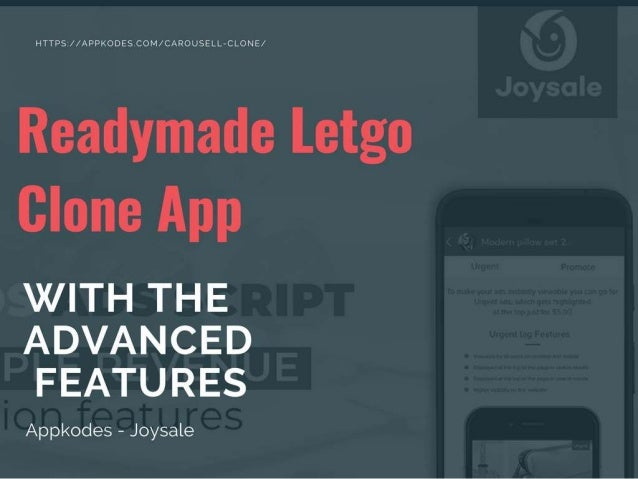 Readymade letgo clone script with the advanced features