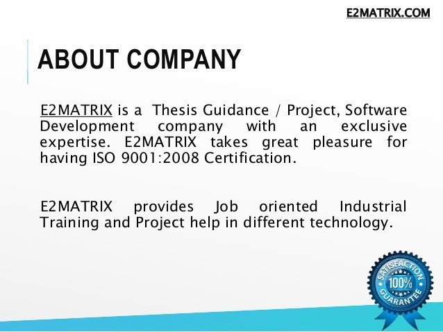 m.tech thesis on manet E2matrix provides m tech, phd thesis help with full thesis help and readymade m tech thesis and full documentation we also provide free research classes for beginner.