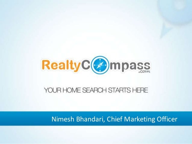 Nimesh Bhandari, Chief Marketing Officer