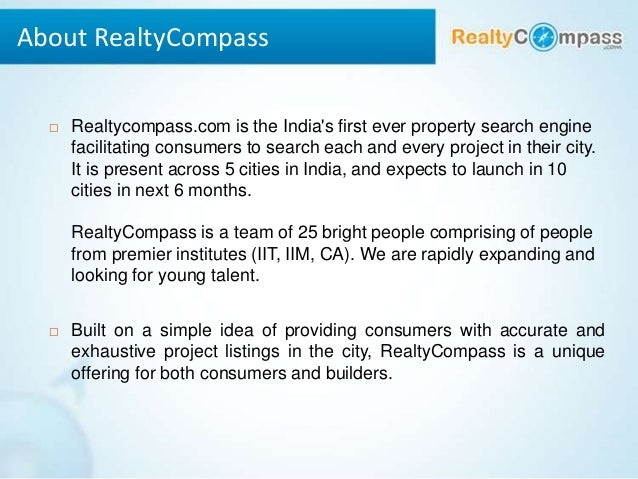 Compass first home project