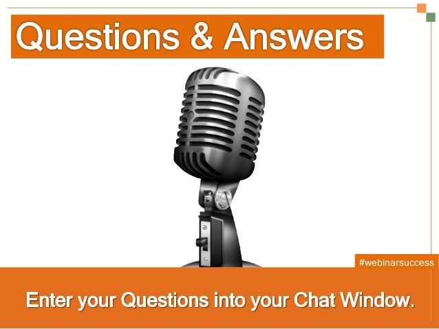 Secrets to a Successful Webinar | HubSpot and ReadyTalk Slide 25