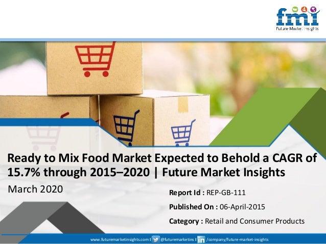 www.futuremarketinsights.com I @futuremarketins I /company/future-market-insights © 2019 Future Market Insights, All Right...