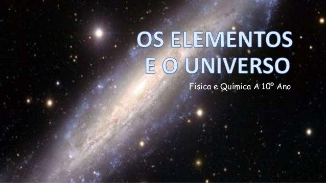 Física e Química A 10º Ano