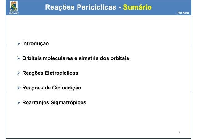Reações periciclicas Slide 2