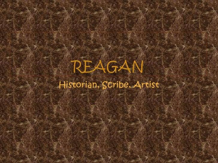 Historian, Scribe, Artist