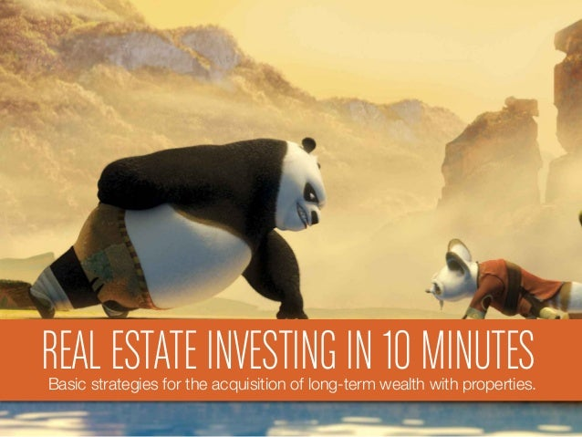 REAL ESTATE INVESTING IN 10 MINUTESBasic strategies for the acquisition of long-term wealth with properties.
