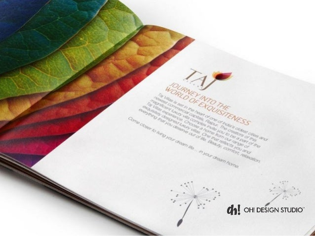 design studio brochure - luxury real estate marketing brochure design oh design