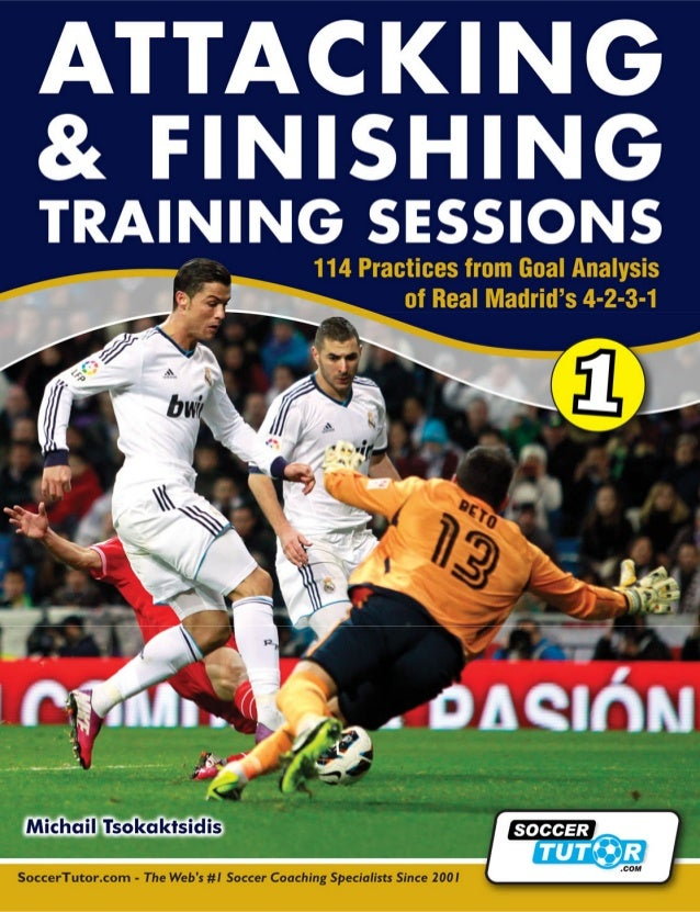 ©SoccerTutor.com Attacking & Finishing Training Sessions110CHAPTER 3ATTACKING AGAINSTOPPONENTS WHO USE AHIGH DEFENSIVE LIN...