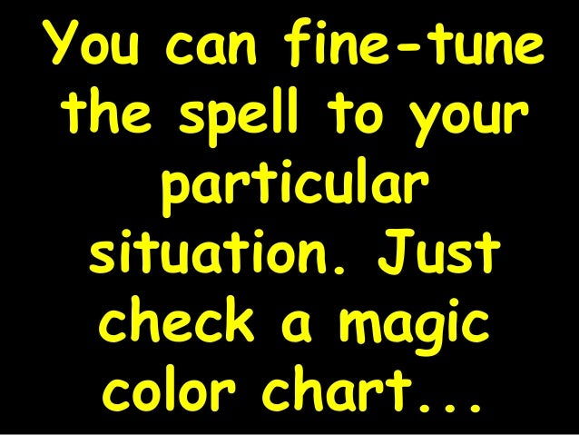 Real Magic Spells That Work For Beginners
