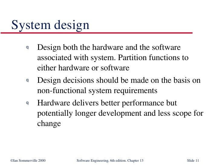 Real Time Software Design In Software Engineering Se13