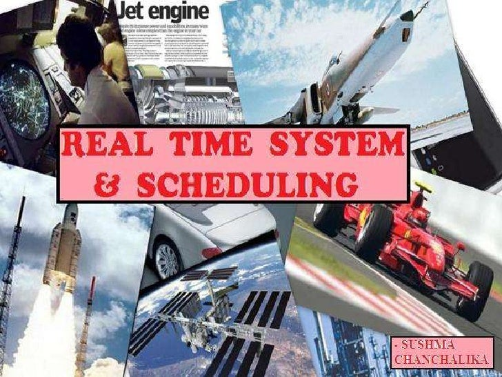 A Real Time System is any informationprocessing system which has to respond toexternally generated input stimuli within af...