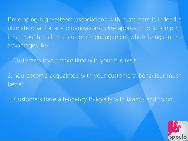 Developing high-esteem associations with customers is indeed a ultimate goal for any organizations. One approach to accomp...