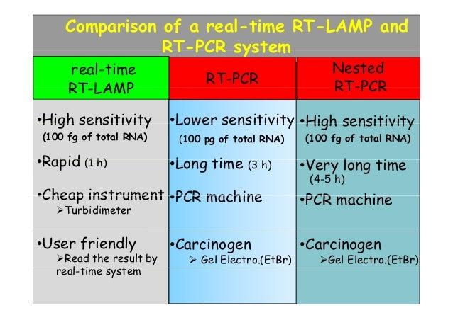 real time pcr machine comparison
